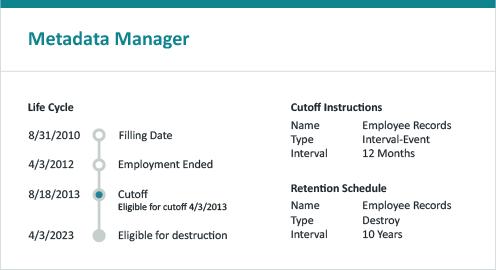 Metadata Manager