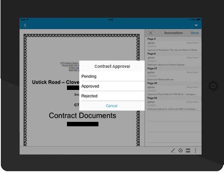 ContractManagement View Edit Sign